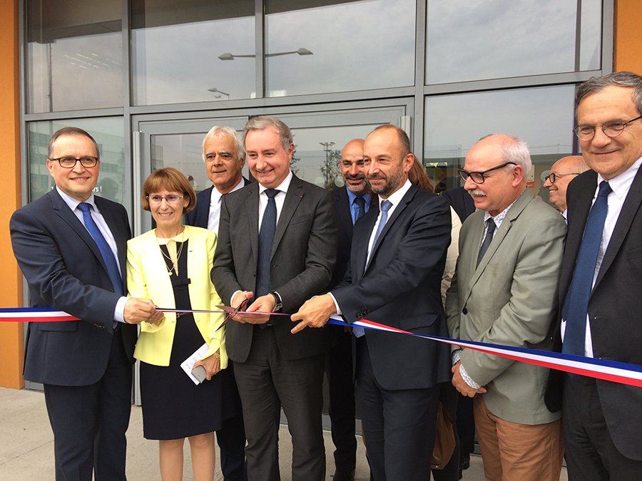 Inauguration Crèche avec Daniel Lacroix