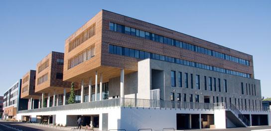 La reconstruction de l 39 universit toulouse jean jaur s - Cabinet ophtalmologie jean jaures toulouse ...