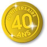 médaille 40 ans